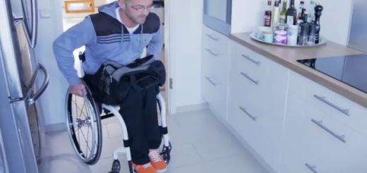 chrbtova opierka na mechanický vozík
