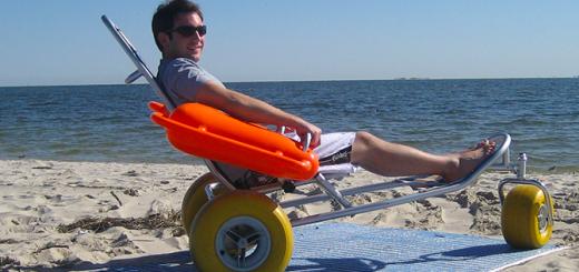 mobi-chair vozík do vody