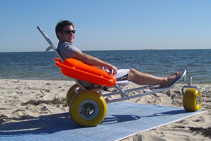 Plážový vozík