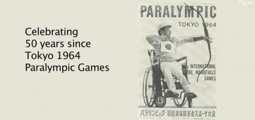 známka Paralympic Tokyo