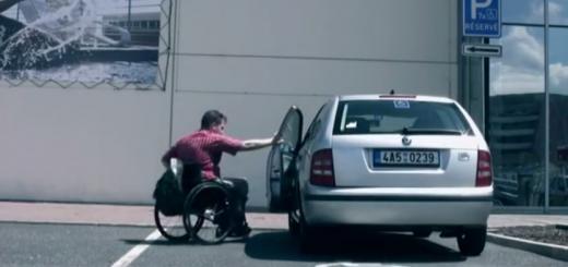 vozickarske parkovanie